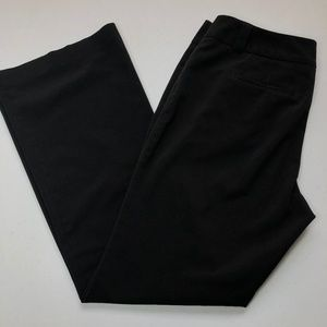 New York & Company Stretch Black Dress Pants 10